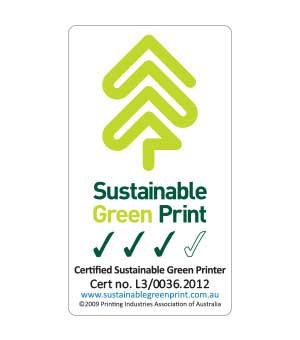 Sustainable Green Print (SGP) logo